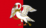 Buckinghamshire Flag Belt Buckle
